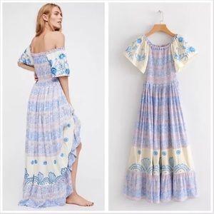 Dresses & Skirts - Coming Soon! Smocked hummingbird boho dress